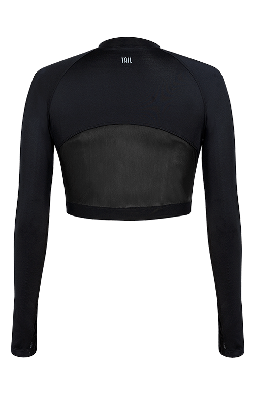 Edie Layering Top - Black