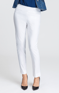 Mulligan White Ankle Pant