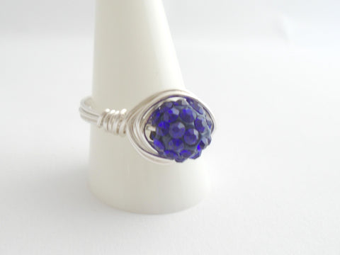 Royal Blue Bling Ring