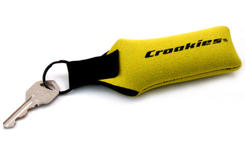 Croakies Floater Key Ring Yellow HT