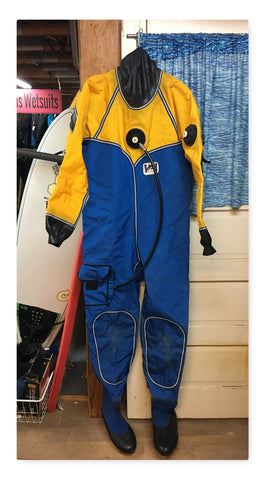 Used Dry Suit Large