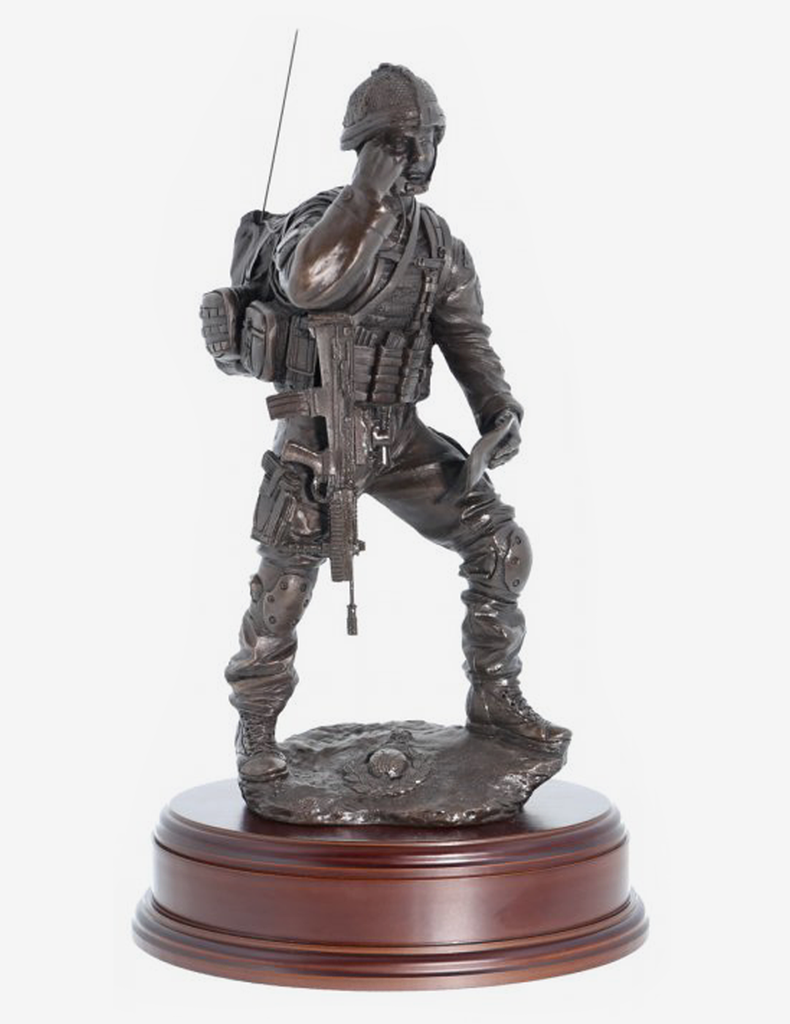 Royal Marine Contact Signaller - Bronze
