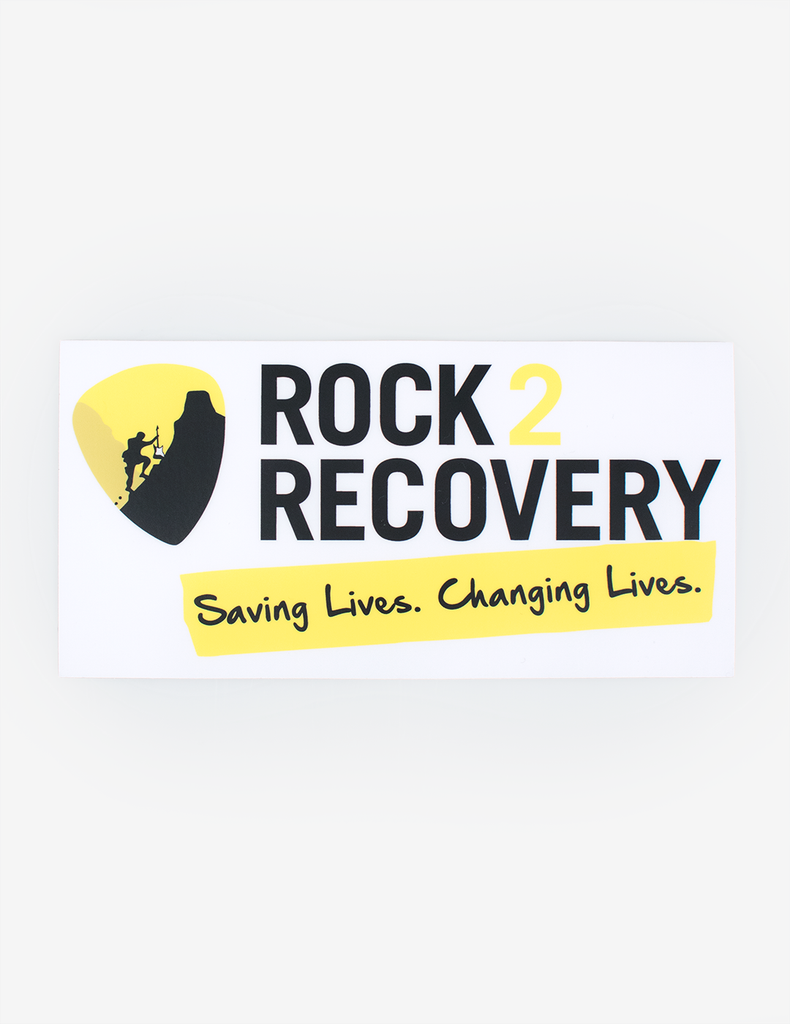 Rock2Recovery Car Window Sticker