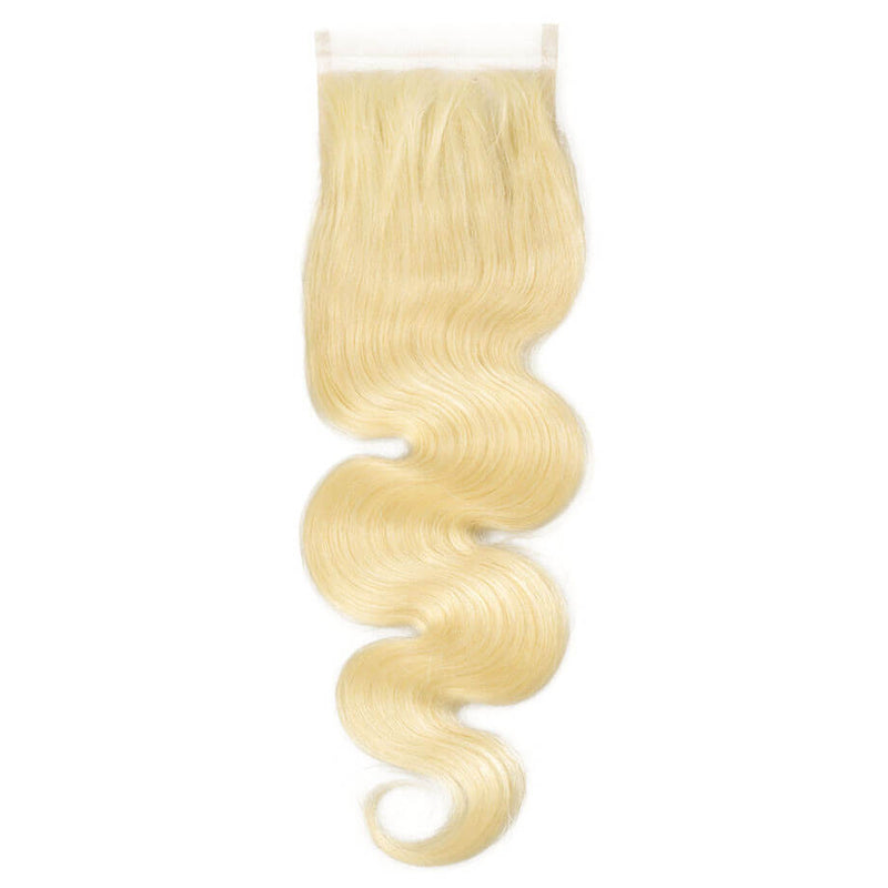 CLOSURES 4X4 613 BLONDE BODY WAVE
