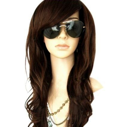 MelodySusie Dark Brown Curly Wig - 34