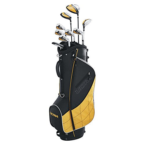 Wilson Golf WGGC43000 Men's 2017 Ultra Package Set, Right Hand, Black