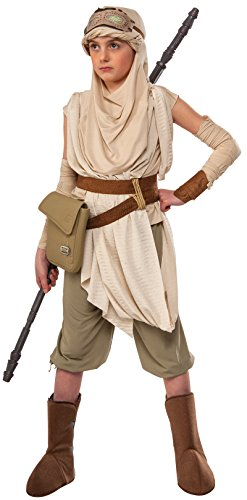 Rubie's Star Wars VII: The Force Awakens Premium Rey Costume, Medium