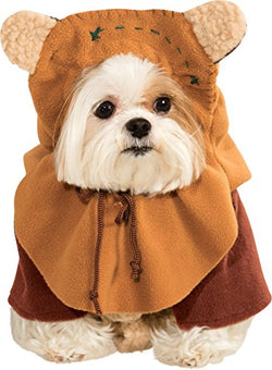 Rubie's Star Wars Collection Pet Costume, Small, Ewok
