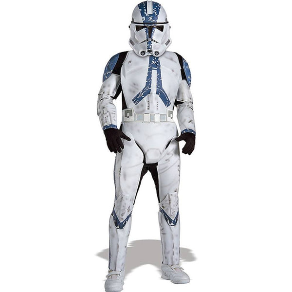 Rubie's Star Wars Classic Child's Deluxe Clone Trooper Costume and Mask, Medium