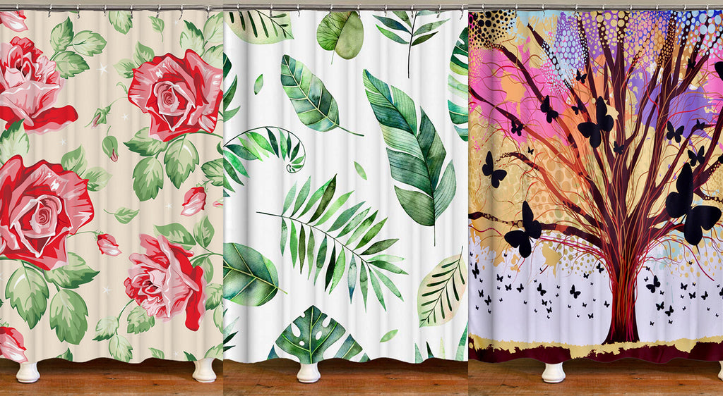 Shower Curtains Nature Themes