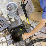 KARCHER 15m Pipe Cleaning Kit Clears Blocked Pipes & Drains 2637767