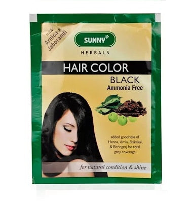 Baksons Sunny Herbal Hair Colour with Arnica, Henna, Shikakai