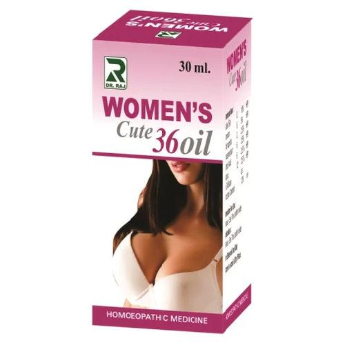 Dr Raj Women's Cute 36, Homeopathy Oil for Breast Enlargement, Firming
