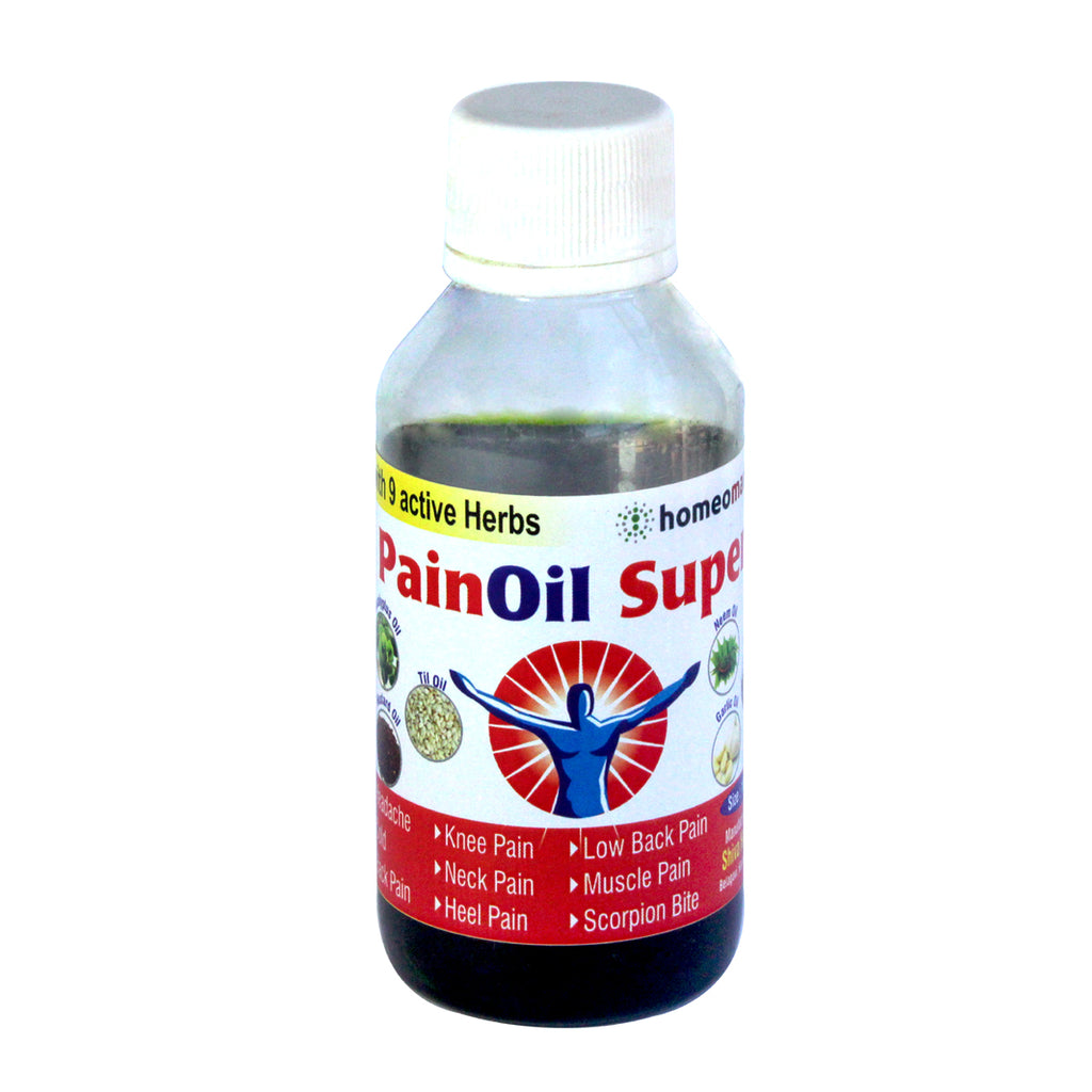 PainOil Super, Herbal Pain Relief Medicine with 9 active herbs
