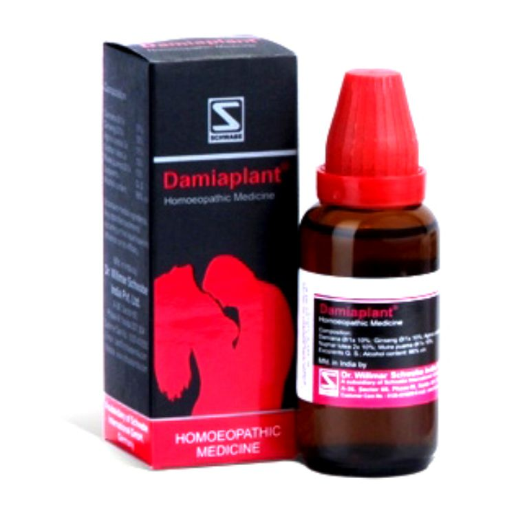 Schwabe Damiaplant drops for sexual dysfunction in men