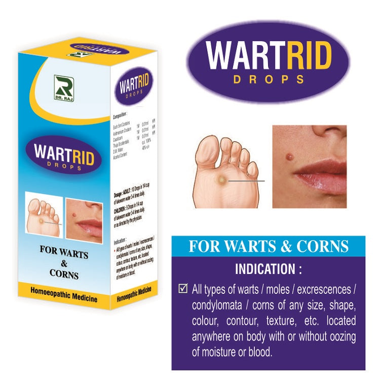 Dr Raj Wartrid Drops for Warts and Corns