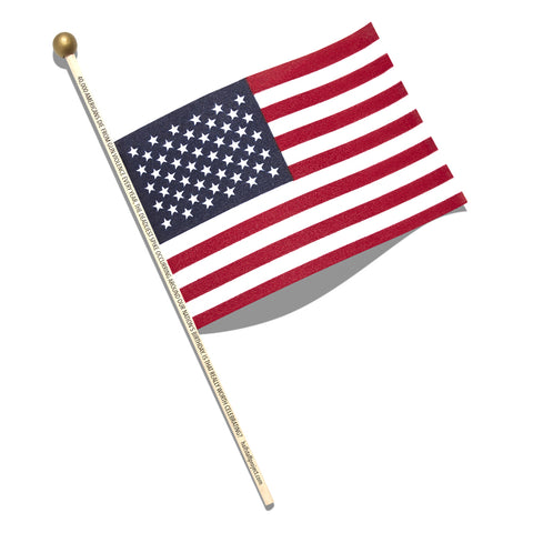 Half Staff Project Flag Enamel Pin