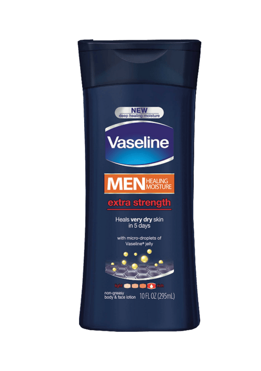 Vaseline Men Body Lotion, 400ml, Various Types