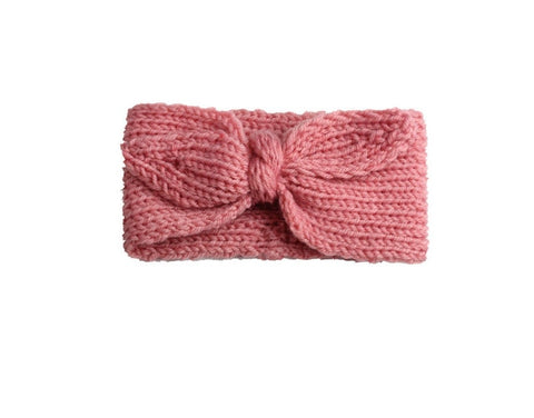 Knit Headband - Dusty Pink