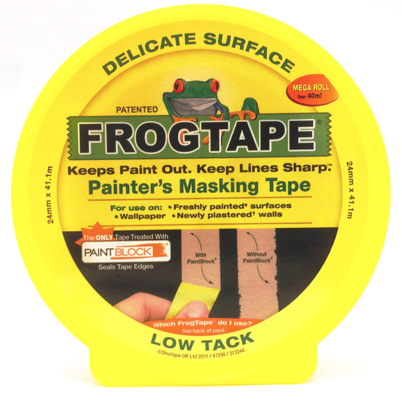 Frogtape delicate surface painter masking tape 24mm x 41.1m