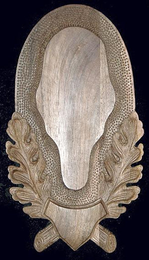 European Deer Skull Mount Panel