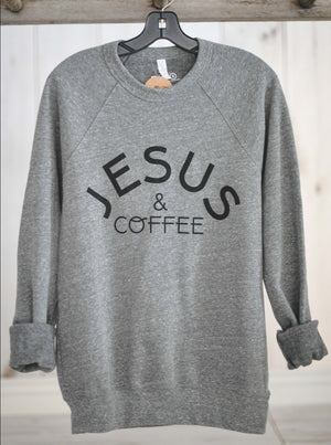 Jesus & Coffee || Crew Sweatshirt
