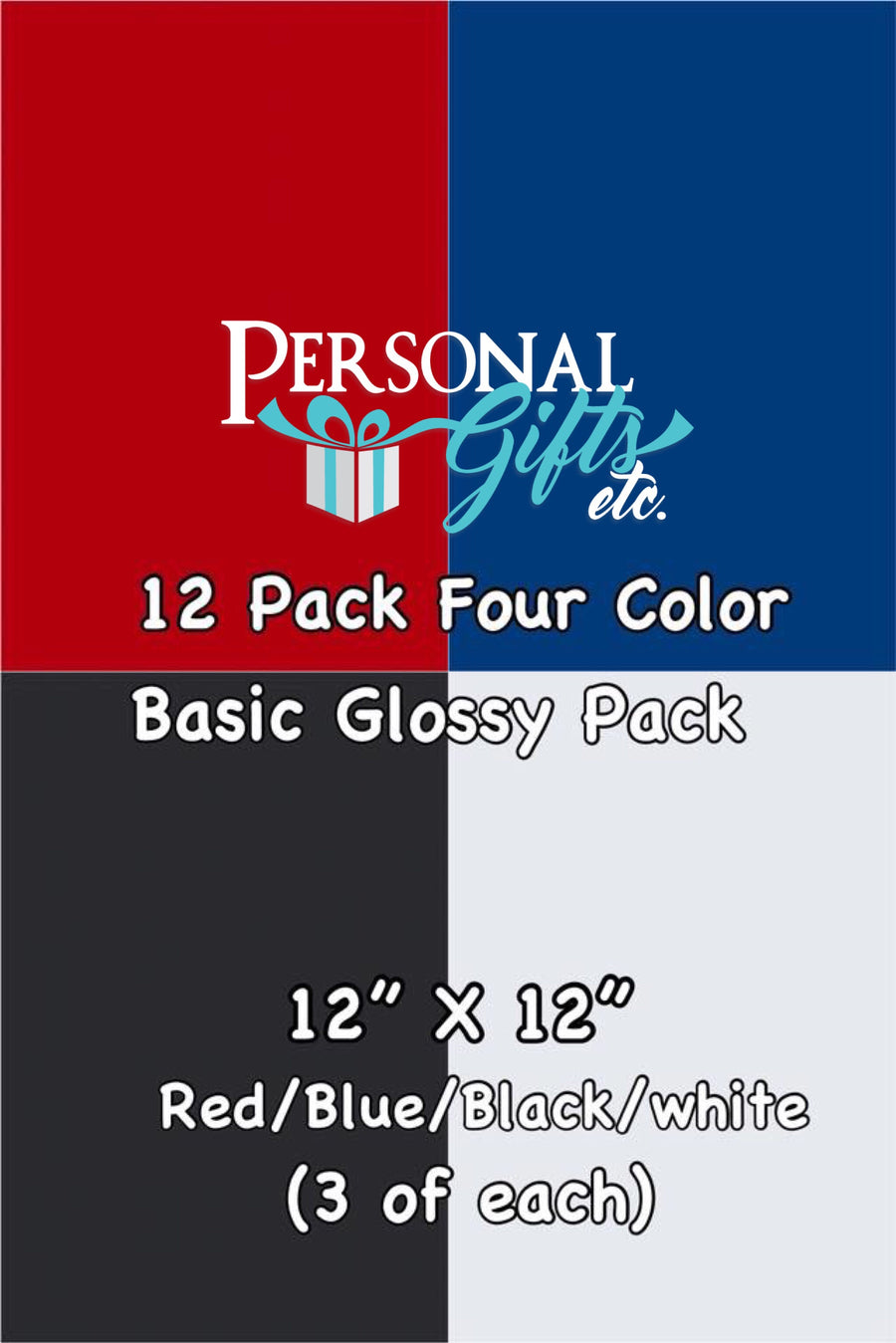 Oracal 651 Adhesive Four Color Basic Glossy Bundle