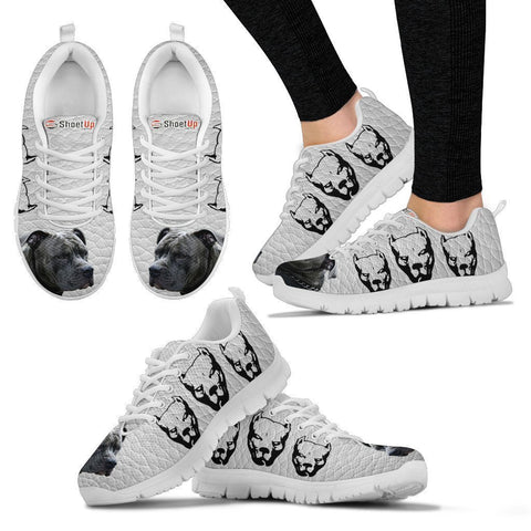Amazing Pitbull  Dog-Women's Running Shoes-Free Shipping-Paww-Printz-Merchandise