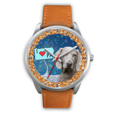 Cute Weimaraner Dog Pennsylvania Christmas Special Wrist Watch-Free Shipping