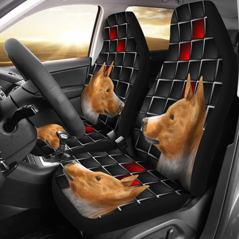 Basenji Dog Print Car Seat Covers- Free Shipping
