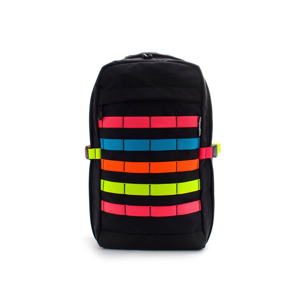 skingrowsback MIDPAK 23 litre Backpack Neon front
