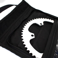 skingrowsback velodrome chainring bag track cycling purple 56T