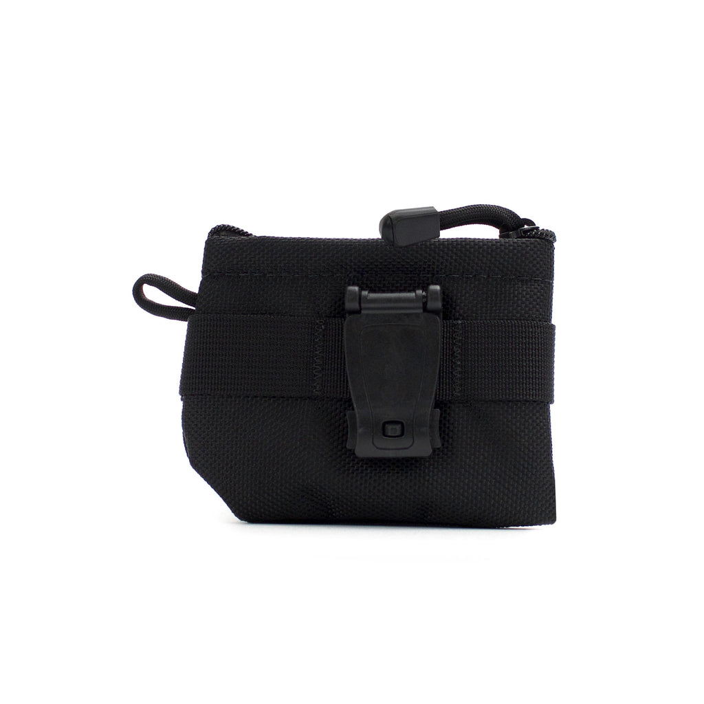 skingrowsback pocket mini modular pouch black clip