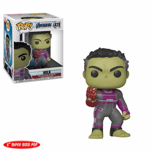 Avengers: Endgame Oversized POP! Movies Vinyl Figure Hulk (pre-order)