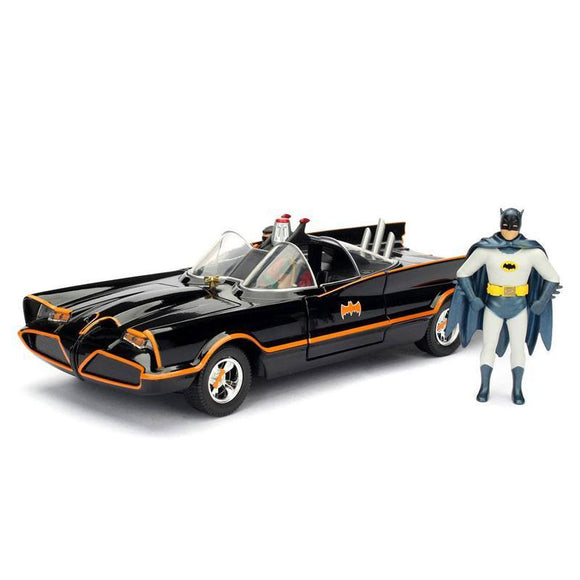 Batman Build N' Collect Diecast Kit 1/24 1966 Classic TV Series Batmobile with figures (pre-order)