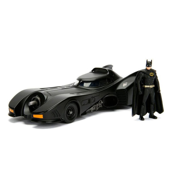 Batman Build N' Collect Diecast Kit 1/24 1989 Batmobile with Batman figure (pre-order)