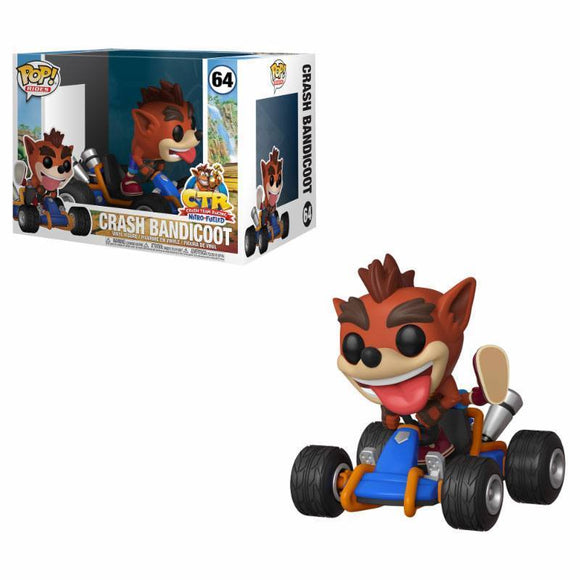 Crash Team Racing POP! Rides Vinyl Figure Crash Bandicoot (pre-order)