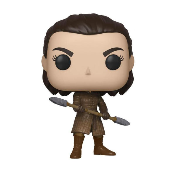 Game of Thrones POP! Television Vinyl Figure Arya w/Two Headed Spear (pre-order)