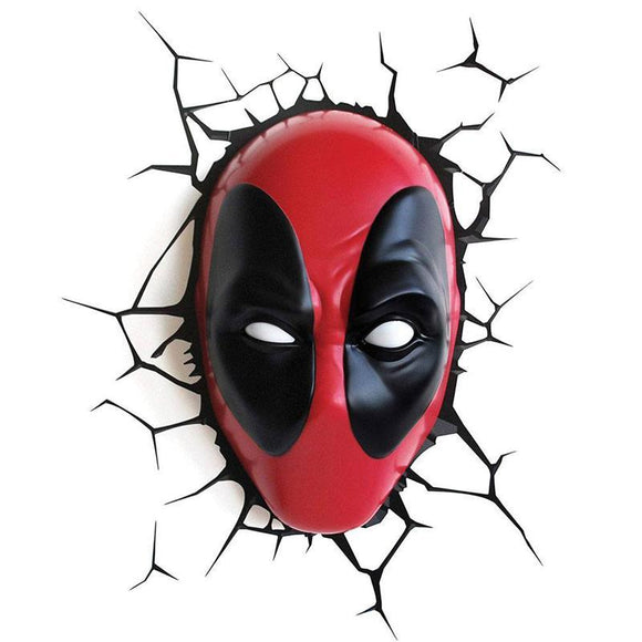 Marvel 3D LED Light Deadpool (pre-order)