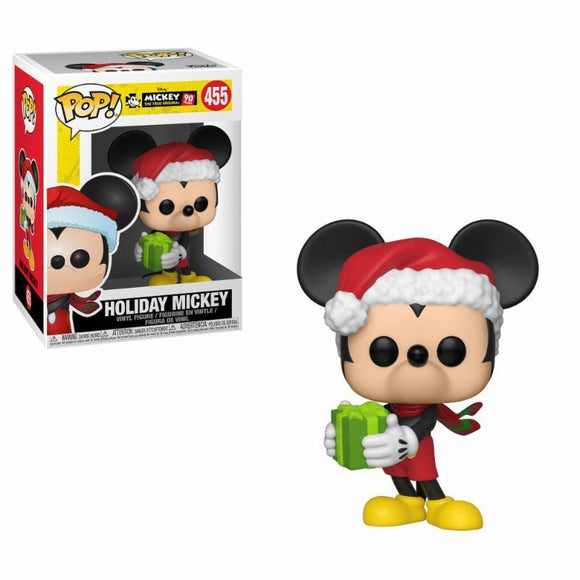 Mickey Mouse 90th Anniversary POP! Disney Vinyl Figure Holiday Mickey