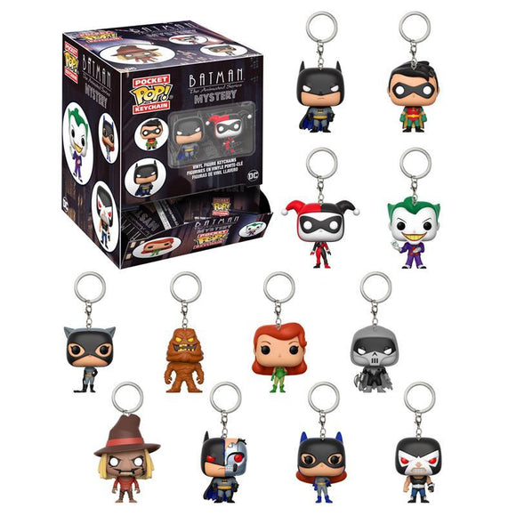 Pocket Pop! Keychain Mystery: Batman The Animated Series (pre-order)