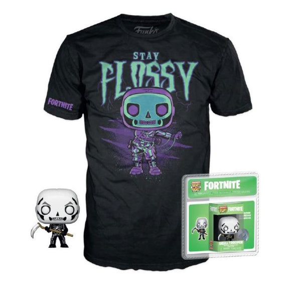S Fortnite Pocket POP! & Tee Box Skull Trooper (pre-order)