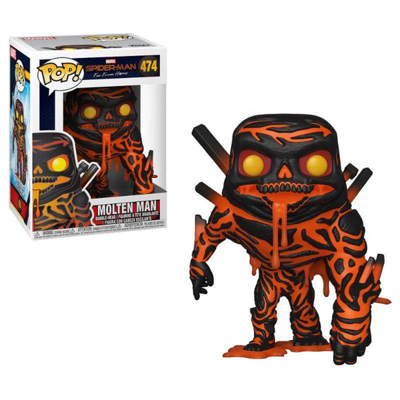 Spider-Man: Far From Home POP! Movies Vinyl Figure Molten Man (pre-order)
