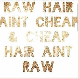 Raw Hair Vs Processed  Hair