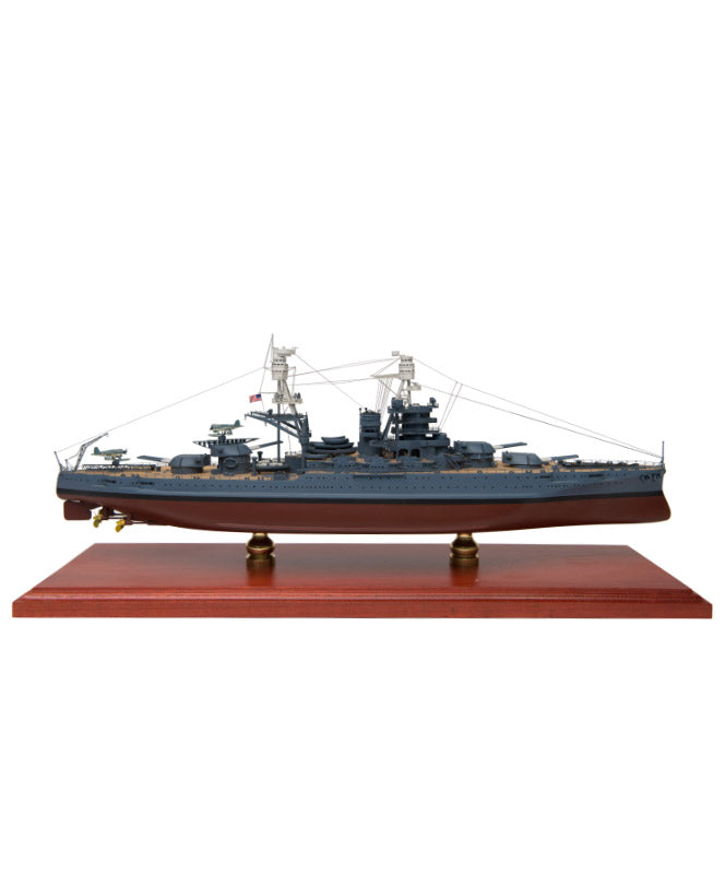 BB39 USS Arizona Mahogany Model