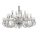 Grand Alexandria Glass Chandelier - Grand Entrance Chandelier
