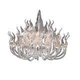 Arabella Clear Crystal Chandelier - Grand Entrance Chandelier