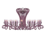 Purple Octopus Crystal Chandelier - Grand Entrance Chandelier
