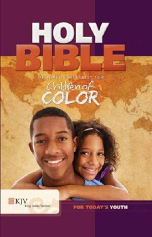 KJV Children Of Color Bible-Purple