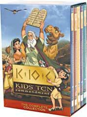 Kids Ten Commandments 5-DVD Set